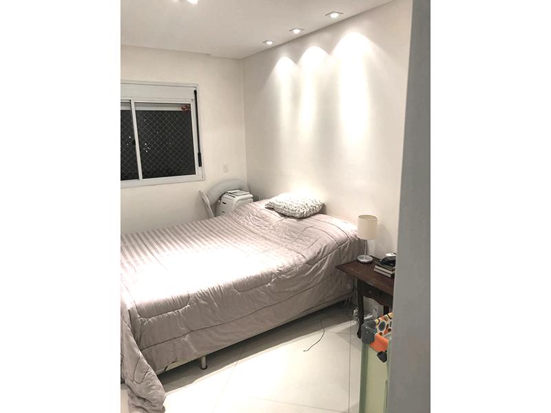 Ipiranga, Apartamento Padrão-Suíte com piso de porcelanato, teto rebaixado com iluminação embutida,