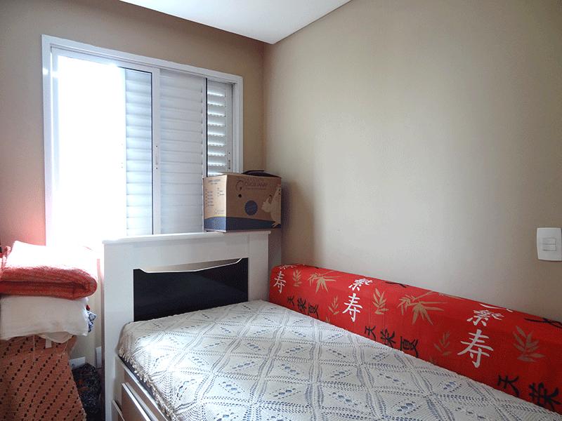 Ipiranga, Apartamento Padrão-2º dormitório com piso laminado e teto rebaixado.