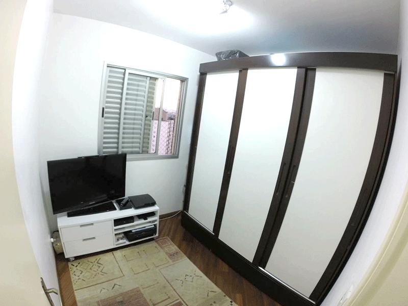 Sacomã, Apartamento Padrão-2ºdormitório com piso de madeira.