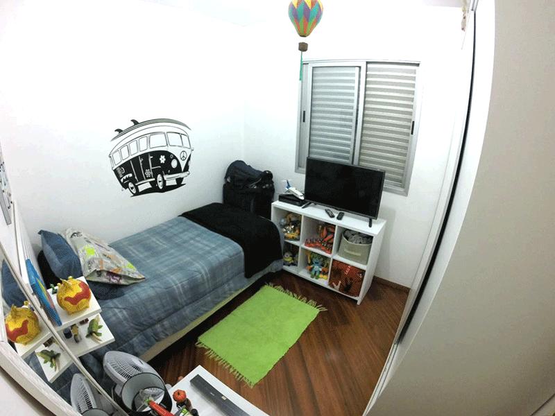 Sacomã, Apartamento Padrão-3ºdormitório com piso de madeira.