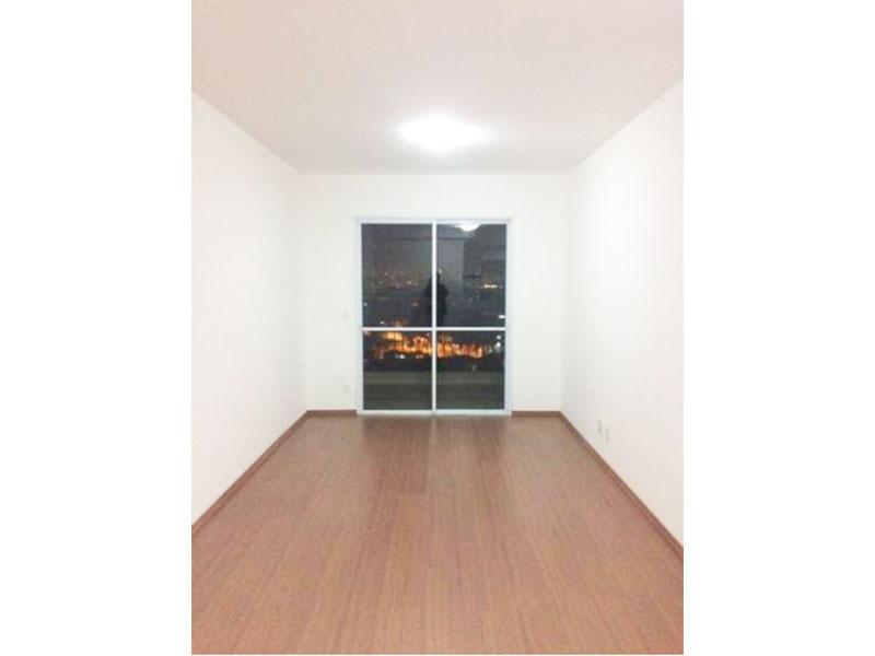Ipiranga, Apartamento Padrão-Sala retangular com piso laminado