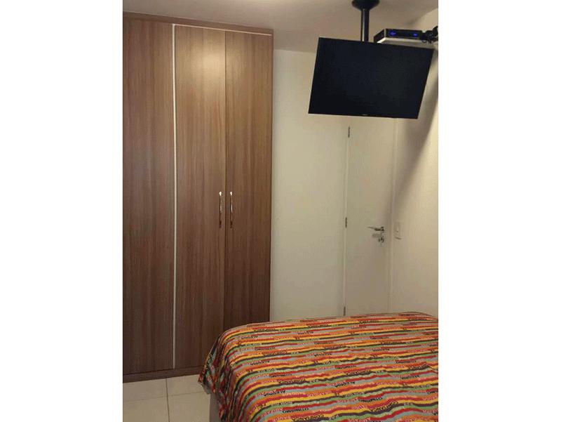 Jabaquara, Apartamento Garden-Dormitório com piso de cerâmica e armários planejados.