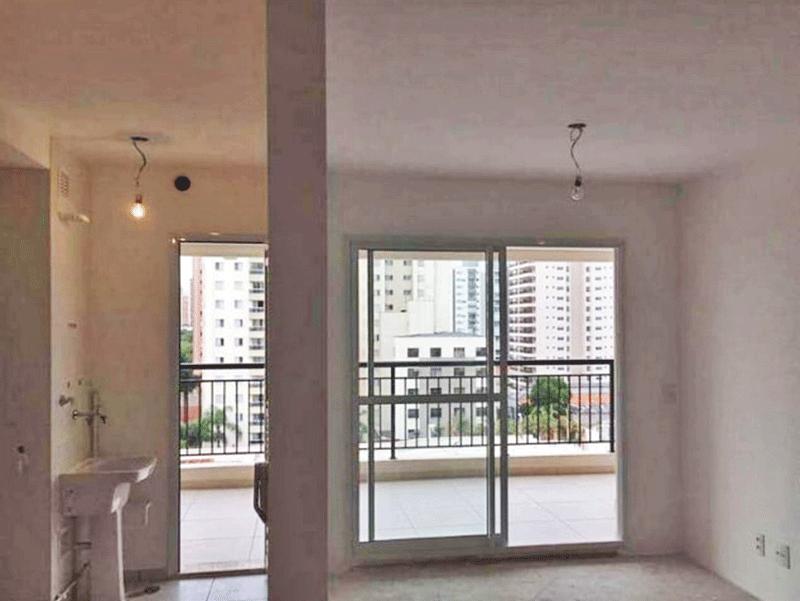 Ipiranga, Apartamento Padrão-Apartamento novo no contra piso (Fotos apartamento padrão).