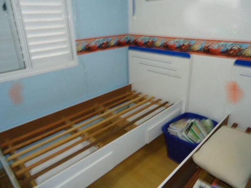 Jabaquara, Apartamento Padrão-2ºdormitório com piso laminado e teto com moldura de gesso.