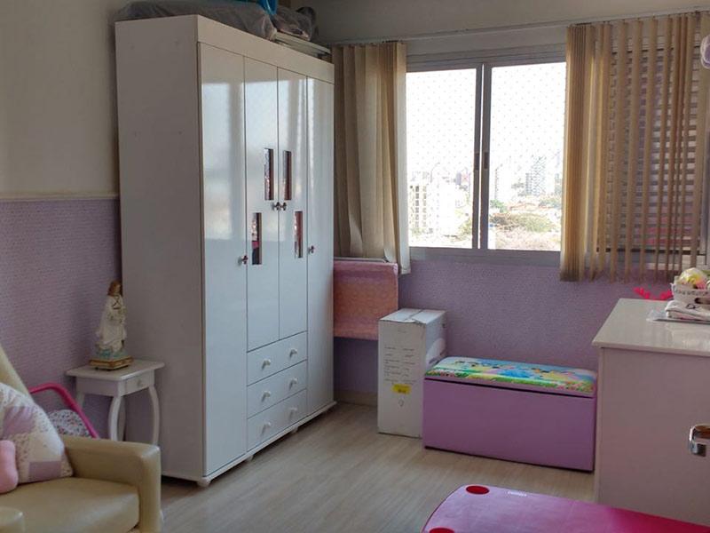 Ipiranga, Apartamento Padrão-2º dormitório com piso laminado.