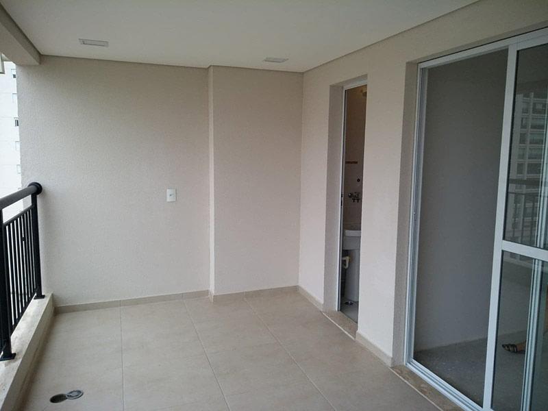 Ipiranga, Apartamento Padrão-Varanda gourmet com piso de cerâmica e teto rebaixado