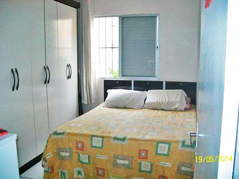 Sacomã, Apartamento Padrão-1º quarto com piso de cerâmica.