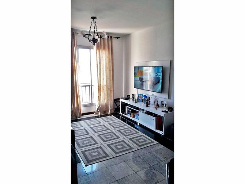 Jabaquara, Apartamento Padrão - Sala com piso de cerâmica.