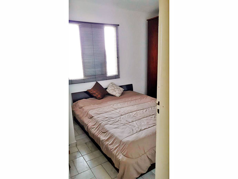 Jabaquara, Apartamento Padrão-2º Quarto com piso de cerâmica.