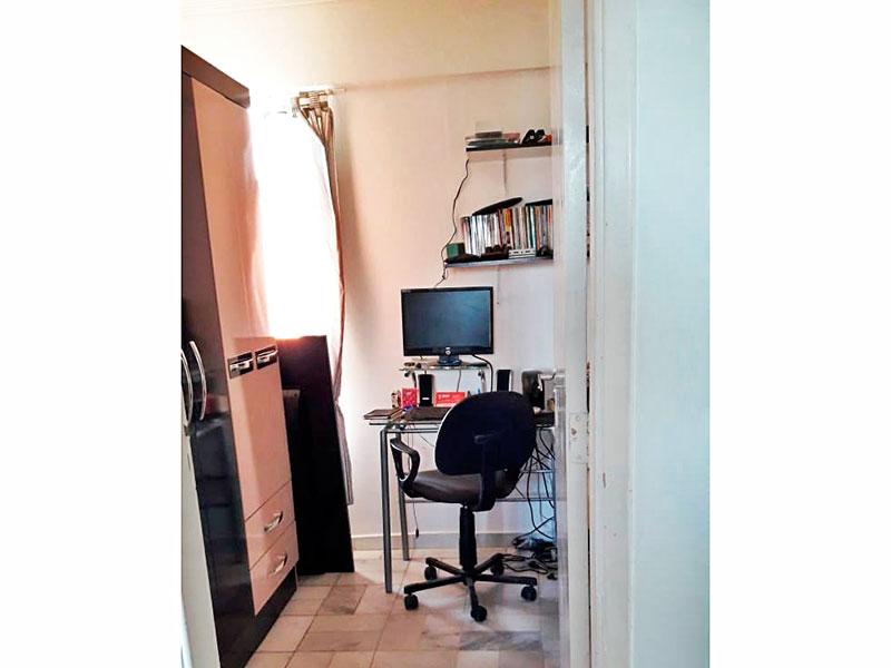 Jabaquara, Apartamento Padrão-3º Quarto com piso de cerâmica.