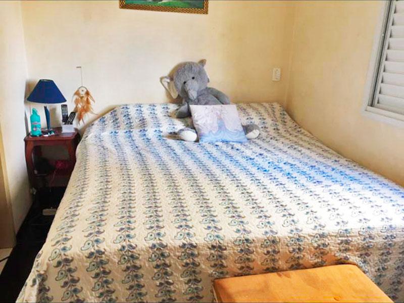 Sacomã, Apartamento Padrão-Suíte com piso de porcelanato.