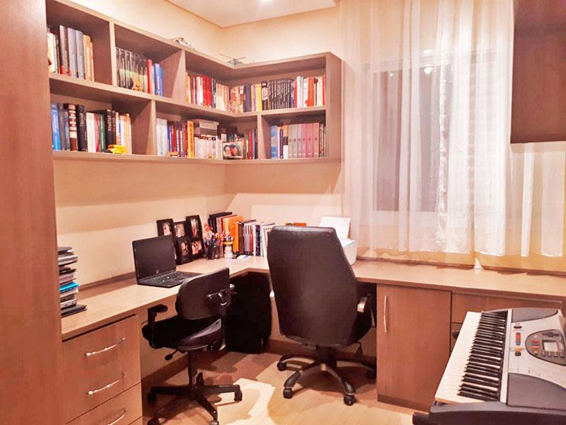 Sacomã, Apartamento Padrão-2º Quarto com piso de laminado, teto com sanca e iluminação embutida.