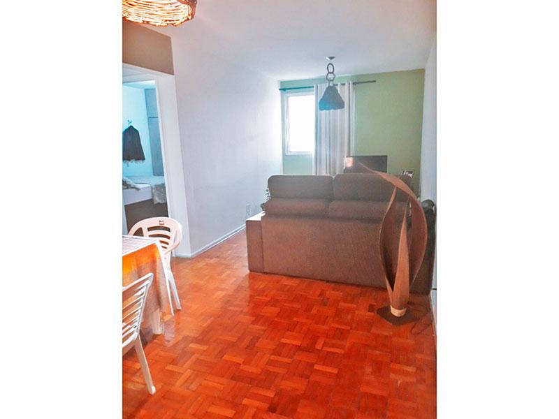 Jabaquara, Apartamento Padrão - Sala com piso de taco.