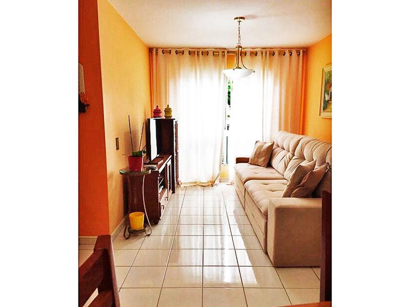 Sacomã, Apartamento Padrão - Sala com piso de cerâmica.