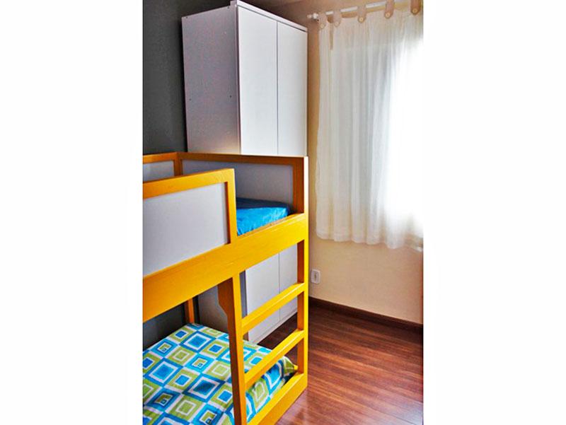 Sacomã, Apartamento Padrão-2º Quarto com piso del aminado.