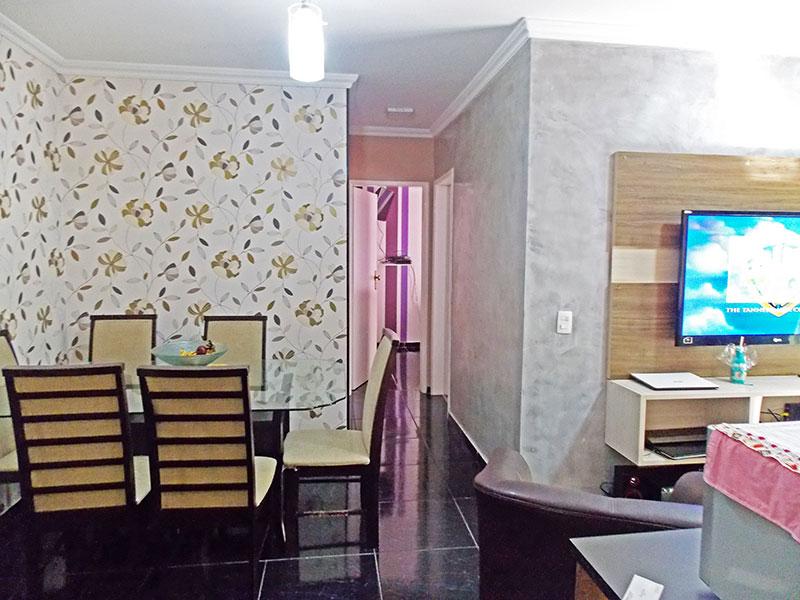 Sacomã, Apartamento Padrão-Sala em L com piso de cerâmica, teto com moldura de gesso e acesso a sacada.