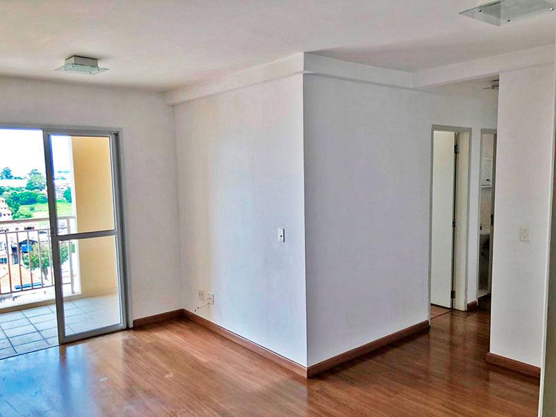 Sacomã, Apartamento Padrão-Sala em L com piso de laminado e acesso a varanda gourmet.