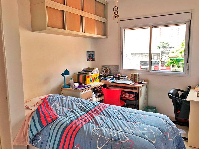 Ipiranga, Apartamento Padrão-2ª Suíte com piso de cerâmica.