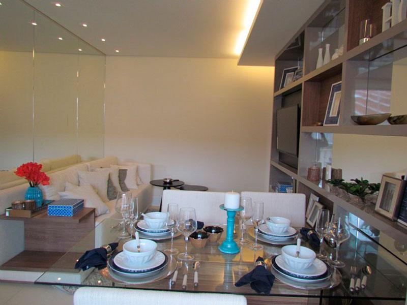Sacomã, Apartamento Padrão-Apartamento novo (Fotos do decorado).