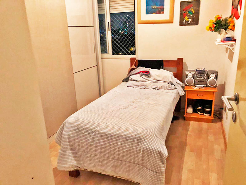 Ipiranga, Apartamento Padrão-3º Quarto com piso de laminado.