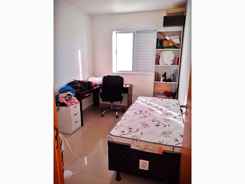 Ipiranga, Apartamento Padrão-2ª Suíte com piso de porcelanato.