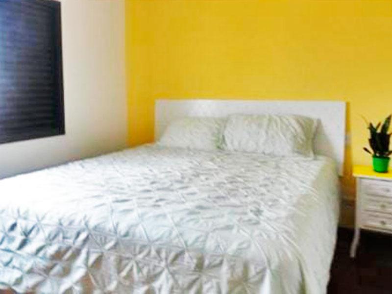 Ipiranga, Cobertura Duplex-Suíte com piso de taco e armários planejados.