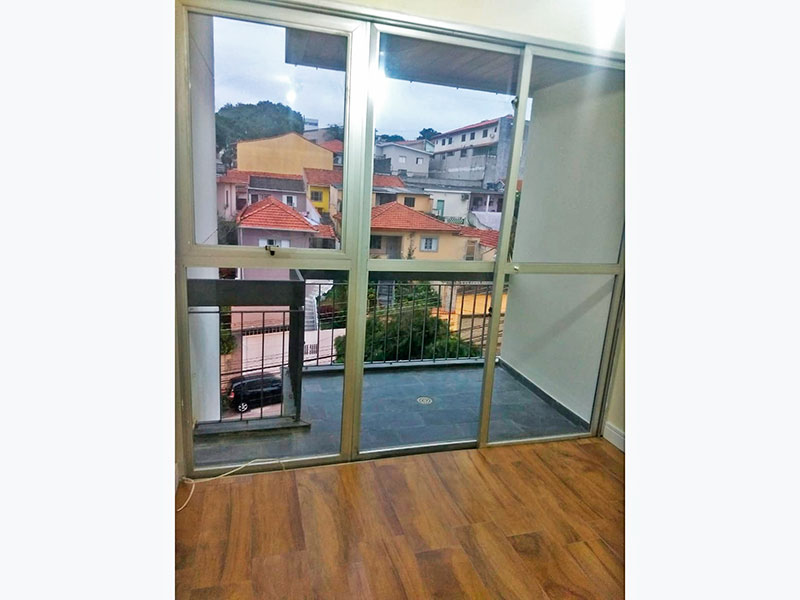 Jabaquara, Apartamento Padrão-Sacada com piso de ardosia.
