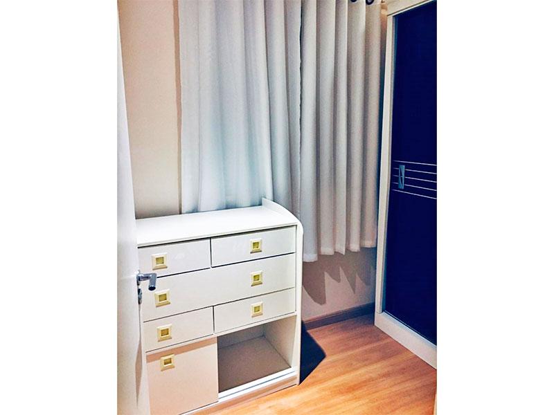 Sacomã, Apartamento Padrão-2º Quarto com piso laminado, teto com sanca e iluminação embutida.