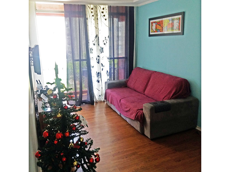 Sacomã, Apartamento Padrão - Sala com piso laminado e teto com sanda de gesso e acesso a varanda.
