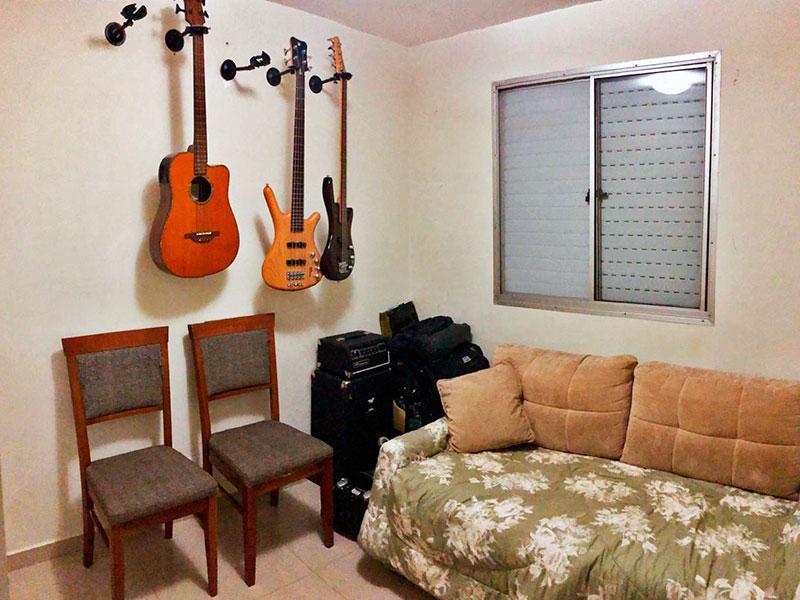 Jabaquara, Apartamento Padrão-2º Quarto com piso de porcelanato.
