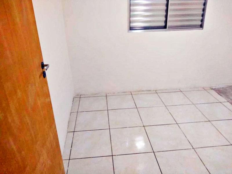 Jabaquara, Apartamento Padrão-1º Quarto com piso de cerâmica.