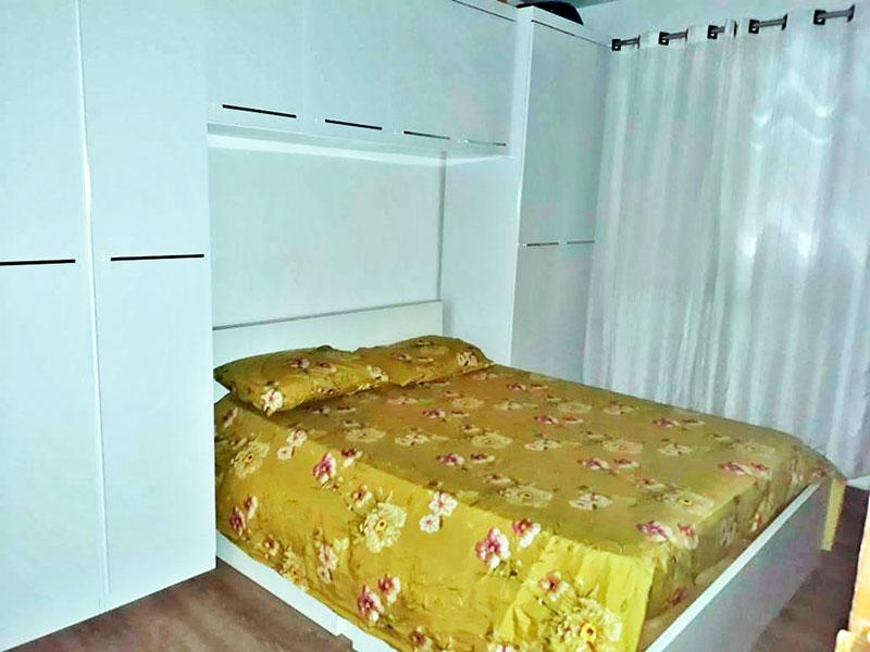 Sacomã, Apartamento Padrão-1º Quarto com piso laminado.
