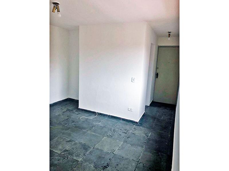Ipiranga, Apartamento Padrão - Sala em L com piso de cerâmica.