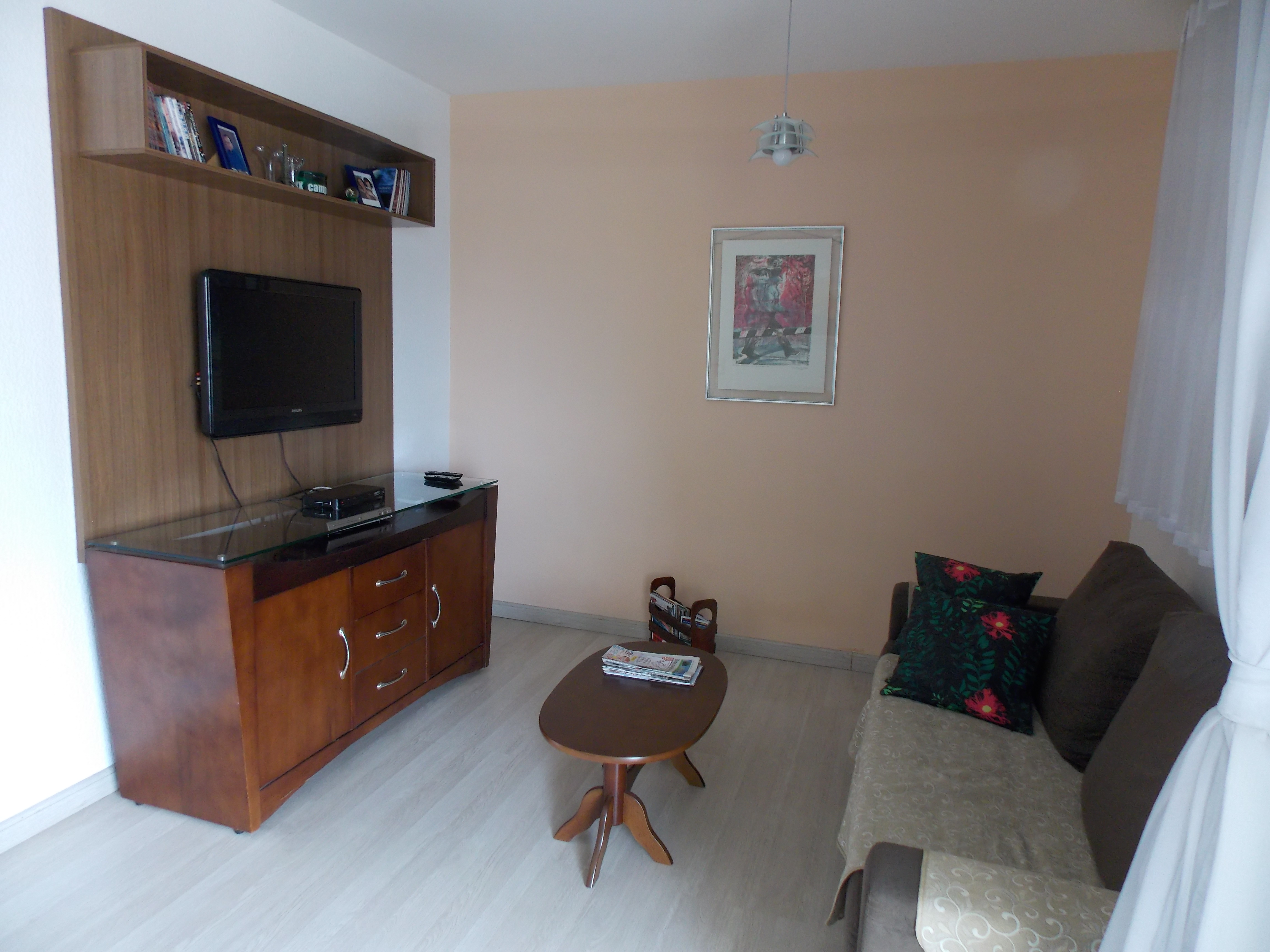 Jabaquara, Apartamento Padrão-4º Dormitório ampliado com a sala e transformado em uma sala de estar