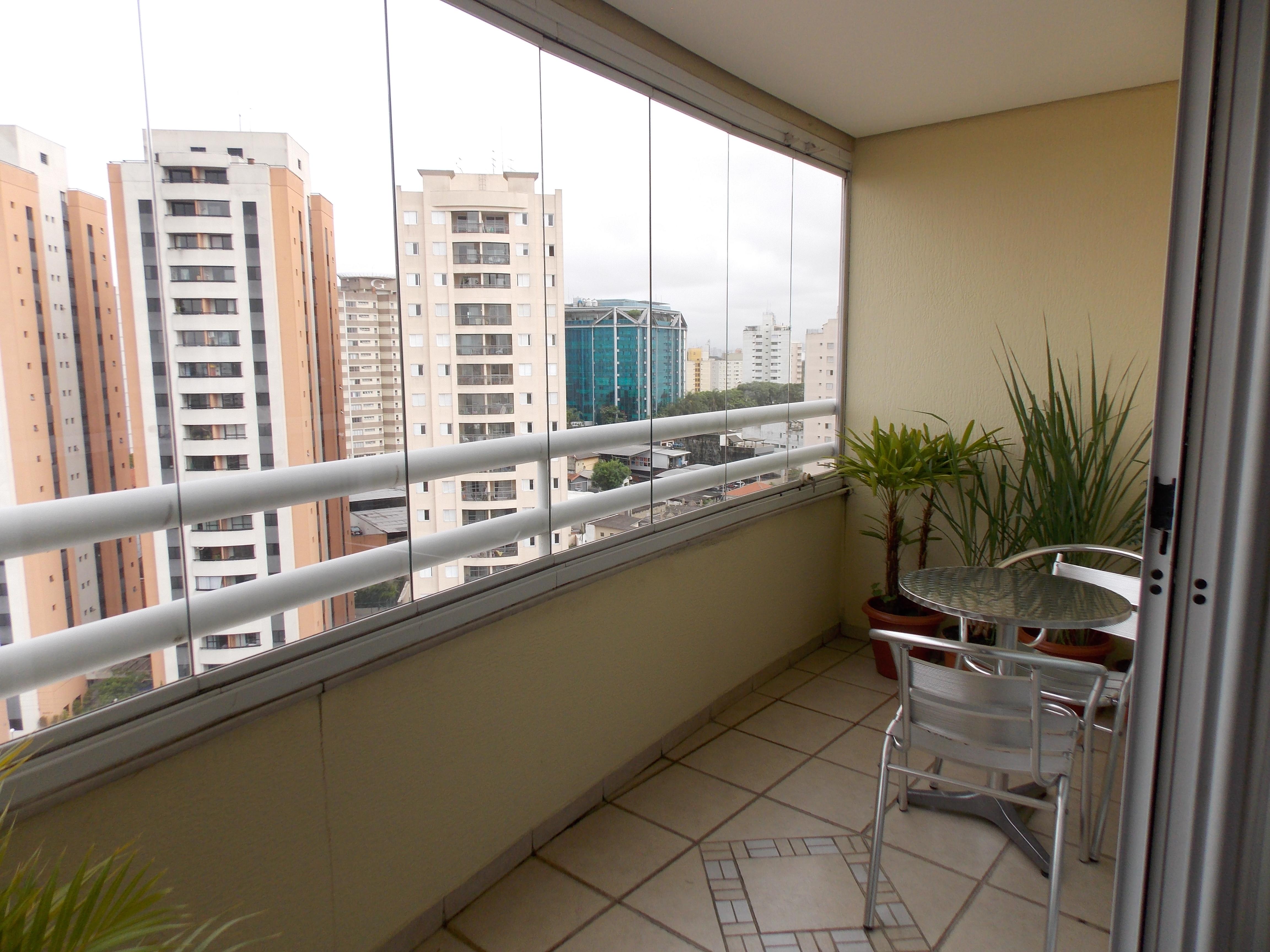 Jabaquara, Apartamento Padrão-Varanda com piso de cerâmica