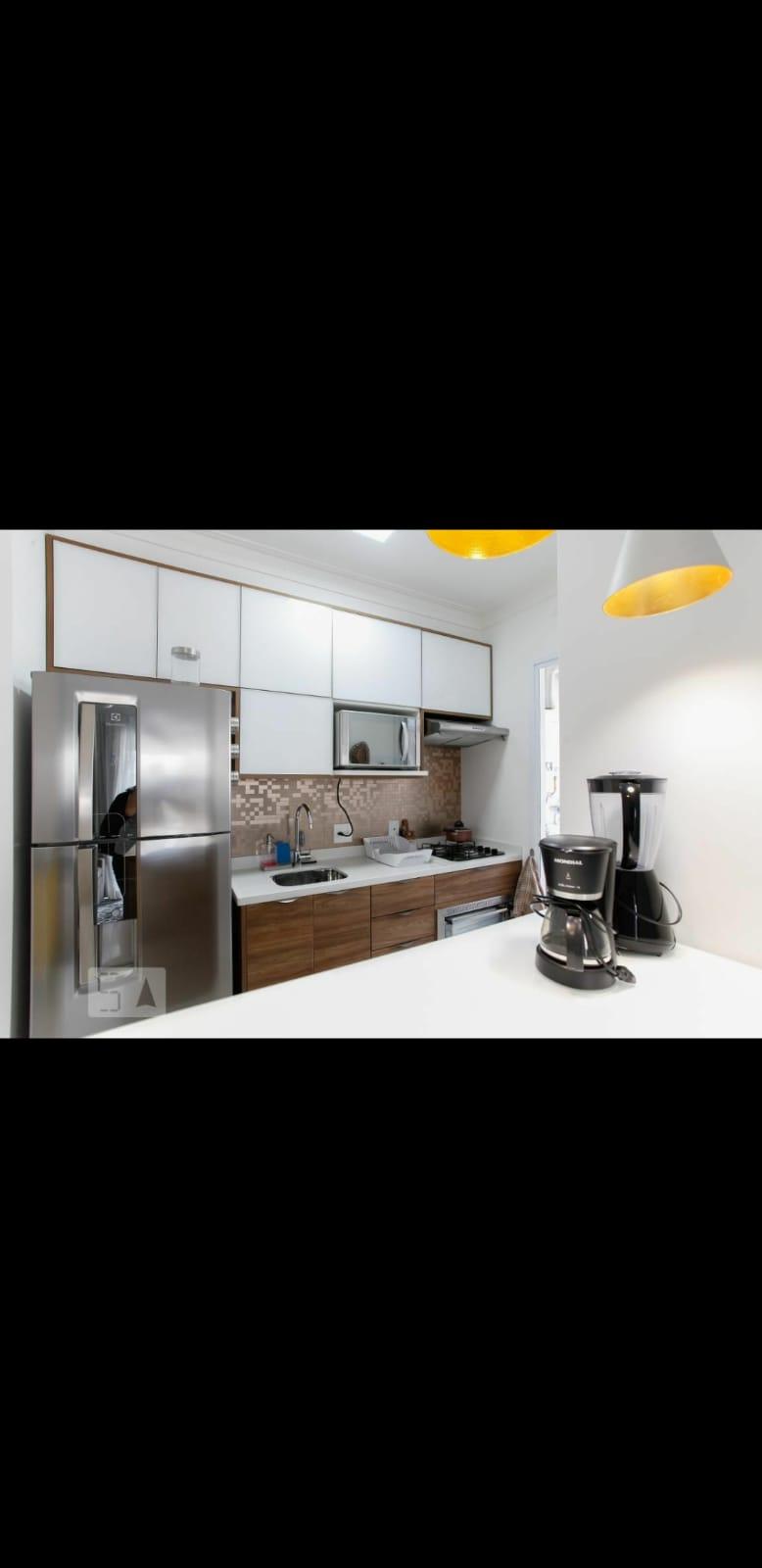 Jabaquara, Apartamento Padrão-Cozinha americana, piso de porcelanato e armários planejados