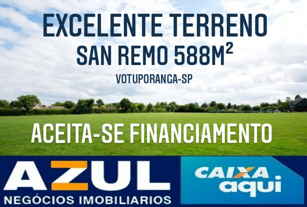 Terreno à venda, San Remo, Votuporanga