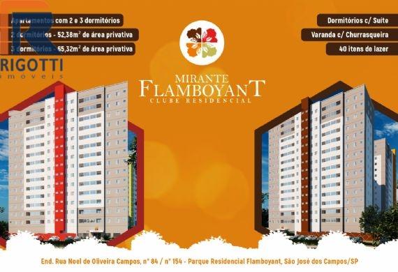 Apartamento à venda, Parque Residencial Flamboyant, São José dos Campos